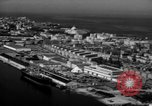 Image of Aerial view of Island San Juan Puerto Rico, 1950, second 22 stock footage video 65675043418