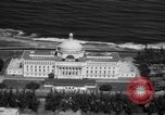 Image of Aerial view of Island San Juan Puerto Rico, 1950, second 43 stock footage video 65675043418