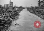 Image of Bomb damage in Japan Hiroshima Japan, 1945, second 58 stock footage video 65675043424