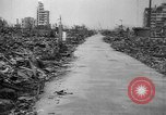 Image of Bomb damage in Japan Hiroshima Japan, 1945, second 59 stock footage video 65675043424