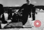 Image of Canadian Navy men Canada, 1944, second 10 stock footage video 65675043437