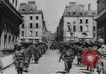 Image of United States troops Rennes France, 1944, second 9 stock footage video 65675043448