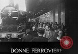 Image of Women railroad workers Italy, 1943, second 20 stock footage video 65675043452