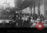 Image of Women railroad workers Italy, 1943, second 22 stock footage video 65675043452