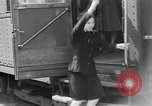 Image of Women railroad workers Italy, 1943, second 58 stock footage video 65675043452