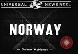 Image of British warships Norway, 1940, second 8 stock footage video 65675043459