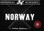 Image of British warships Norway, 1940, second 10 stock footage video 65675043459
