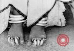 Image of Tibetan monks Eastern India, 1937, second 36 stock footage video 65675043491