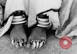 Image of Tibetan monks Eastern India, 1937, second 40 stock footage video 65675043491