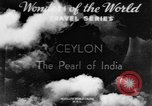 Image of natives in town Ceylon, 1937, second 2 stock footage video 65675043493