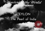 Image of natives in town Ceylon, 1937, second 4 stock footage video 65675043493