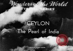 Image of natives in town Ceylon, 1937, second 5 stock footage video 65675043493