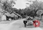 Image of natives in town Ceylon, 1937, second 41 stock footage video 65675043493