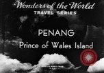 Image of Temples Penang Malaysia, 1937, second 4 stock footage video 65675043494