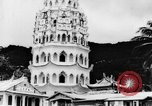 Image of Temples Penang Malaysia, 1937, second 11 stock footage video 65675043494