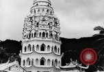 Image of Temples Penang Malaysia, 1937, second 13 stock footage video 65675043494