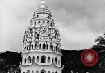 Image of Temples Penang Malaysia, 1937, second 15 stock footage video 65675043494