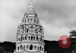 Image of Temples Penang Malaysia, 1937, second 16 stock footage video 65675043494