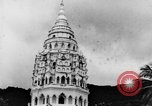 Image of Temples Penang Malaysia, 1937, second 17 stock footage video 65675043494
