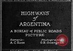 Image of Landmarks of downtown Buenos Aires in 1920s Buenos Aires Argentina, 1929, second 5 stock footage video 65675043507