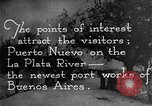 Image of Argentina visit by Secretary of Commerce Herbert Hoover Buenos Aires Argentina, 1928, second 59 stock footage video 65675043508
