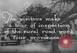 Image of Visitors inspect rural roads of Argentina Argentina, 1929, second 9 stock footage video 65675043510