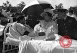 Image of King George VI and Queen Elizabeth visit wounded soldiers Edmonton Alberta Canada, 1939, second 11 stock footage video 65675043535