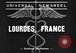 Image of Fred Snite Lourdes France, 1939, second 1 stock footage video 65675043536