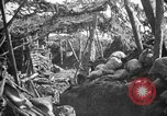 Image of trench camouflage World War 1 France, 1918, second 13 stock footage video 65675043548