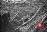 Image of trench camouflage World War 1 France, 1918, second 20 stock footage video 65675043548
