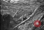 Image of trench camouflage World War 1 France, 1918, second 21 stock footage video 65675043548
