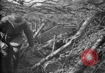 Image of trench camouflage World War 1 France, 1918, second 24 stock footage video 65675043548