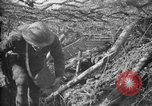 Image of trench camouflage World War 1 France, 1918, second 25 stock footage video 65675043548
