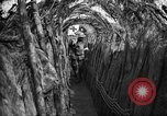 Image of trench camouflage World War 1 France, 1918, second 33 stock footage video 65675043548