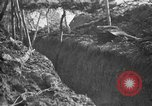 Image of trench camouflage World War 1 France, 1918, second 39 stock footage video 65675043548