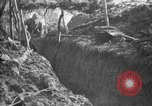 Image of trench camouflage World War 1 France, 1918, second 42 stock footage video 65675043548