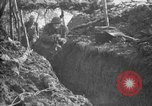 Image of trench camouflage World War 1 France, 1918, second 44 stock footage video 65675043548