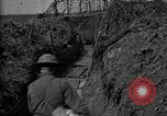 Image of trench camouflage World War 1 France, 1918, second 47 stock footage video 65675043548