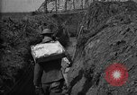 Image of trench camouflage World War 1 France, 1918, second 49 stock footage video 65675043548