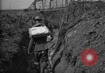 Image of trench camouflage World War 1 France, 1918, second 50 stock footage video 65675043548