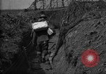 Image of trench camouflage World War 1 France, 1918, second 51 stock footage video 65675043548