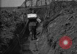 Image of trench camouflage World War 1 France, 1918, second 52 stock footage video 65675043548