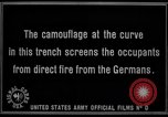 Image of trench camouflage World War 1 France, 1918, second 55 stock footage video 65675043548