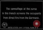 Image of trench camouflage World War 1 France, 1918, second 58 stock footage video 65675043548