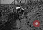 Image of trench camouflage World War 1 France, 1918, second 62 stock footage video 65675043548