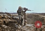 Image of 7th Infantry Division soldiers Korea, 1968, second 33 stock footage video 65675043557