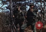 Image of 7th Infantry Division soldiers Korea, 1968, second 9 stock footage video 65675043560