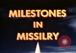 Image of Milestone in Missilery United States USA, 1960, second 40 stock footage video 65675043564
