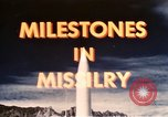 Image of Milestone in Missilery United States USA, 1960, second 42 stock footage video 65675043564