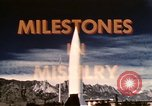 Image of Milestone in Missilery United States USA, 1960, second 43 stock footage video 65675043564